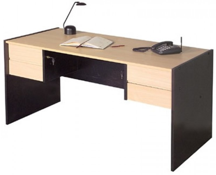 Dise o de interiores escritorios en melamine for Medidas ergonomicas de un escritorio