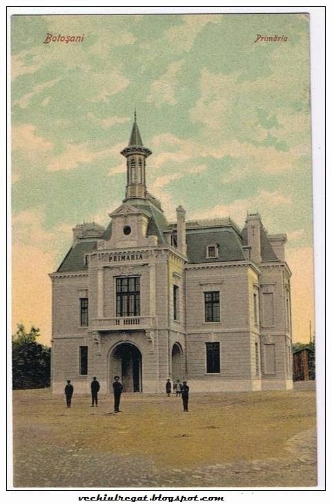 Primaria din Botosaniul vechi