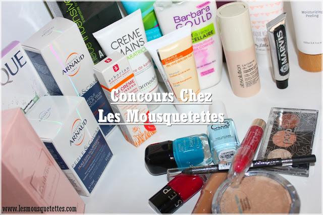 Résultat Concours Mousquetettes Beauty Box blog beauté - Les Mousquetettes©