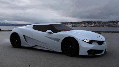 papel de parede carro branco