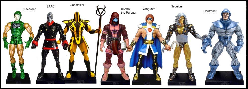 <b>Wave 19</b>: The Recorder, Isaac, Godstalker, Korath the Pursuer, Vanguard, Nebulon &amp; Controller