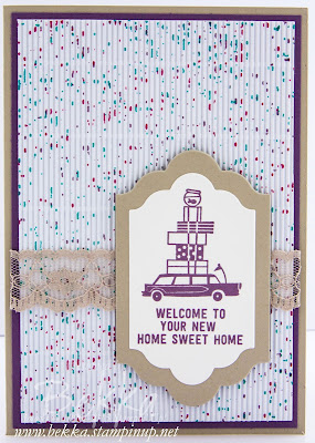 Happy New Home Sweet Home Card