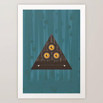 Art Print Trirámide