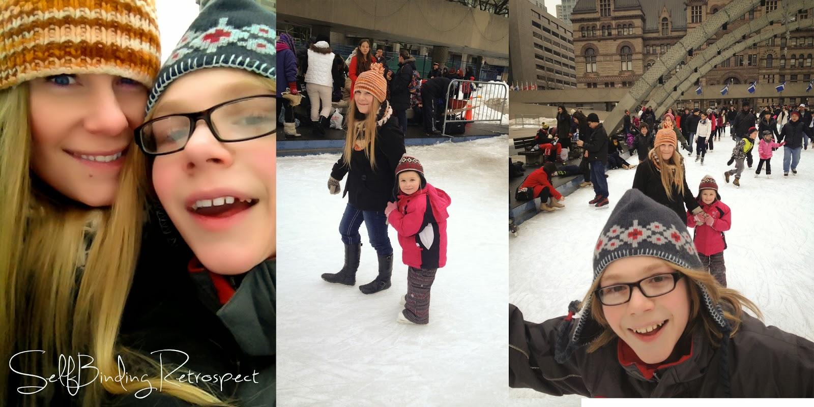 nathan philips square, toronto, ontario, skating
