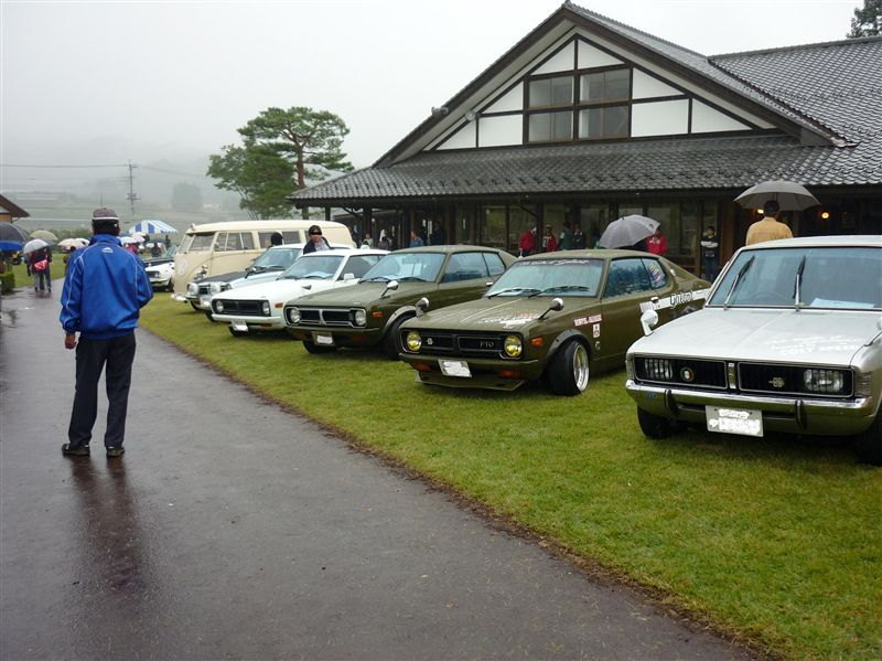 Mitsubishi Lancer A73 GSR, 3x Mitsubishi Galant Coupe FTO, Mitsubishi Colt Galant A52 GS stary japoński samochód klasyk oldschool