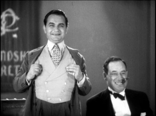 Edward G. Robinson and Stanley Fields