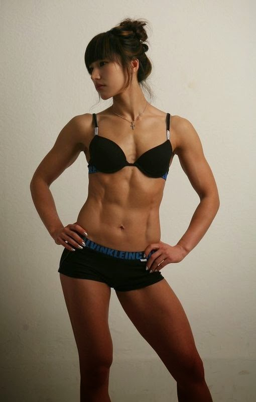 Seonhwa Hwang-female fitness models-female fitness