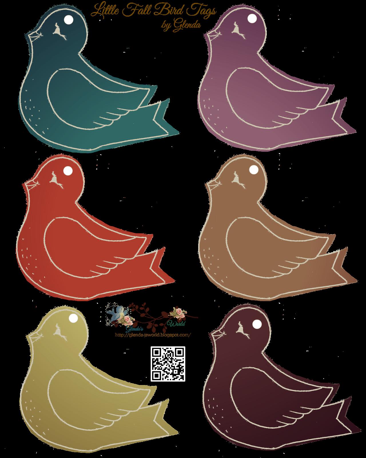 Little Fall Birdies