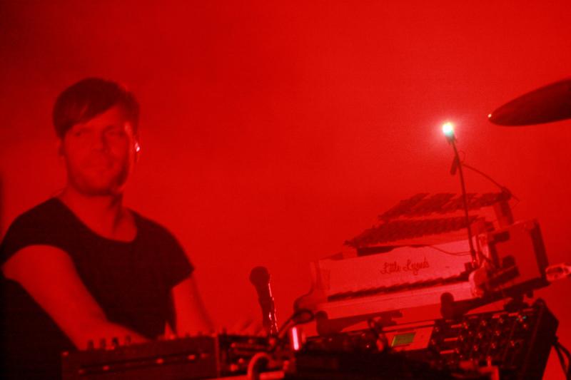 Trentemoller live at Sziget Festival 2011