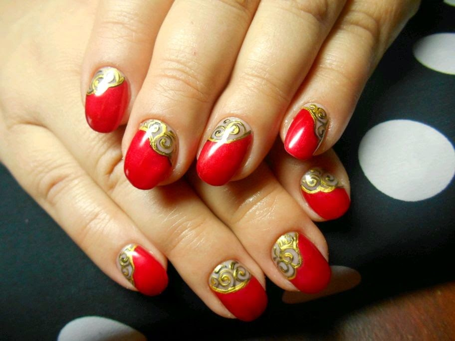 TOP 10 Nail Art Ideas For Valentine's Day 2015