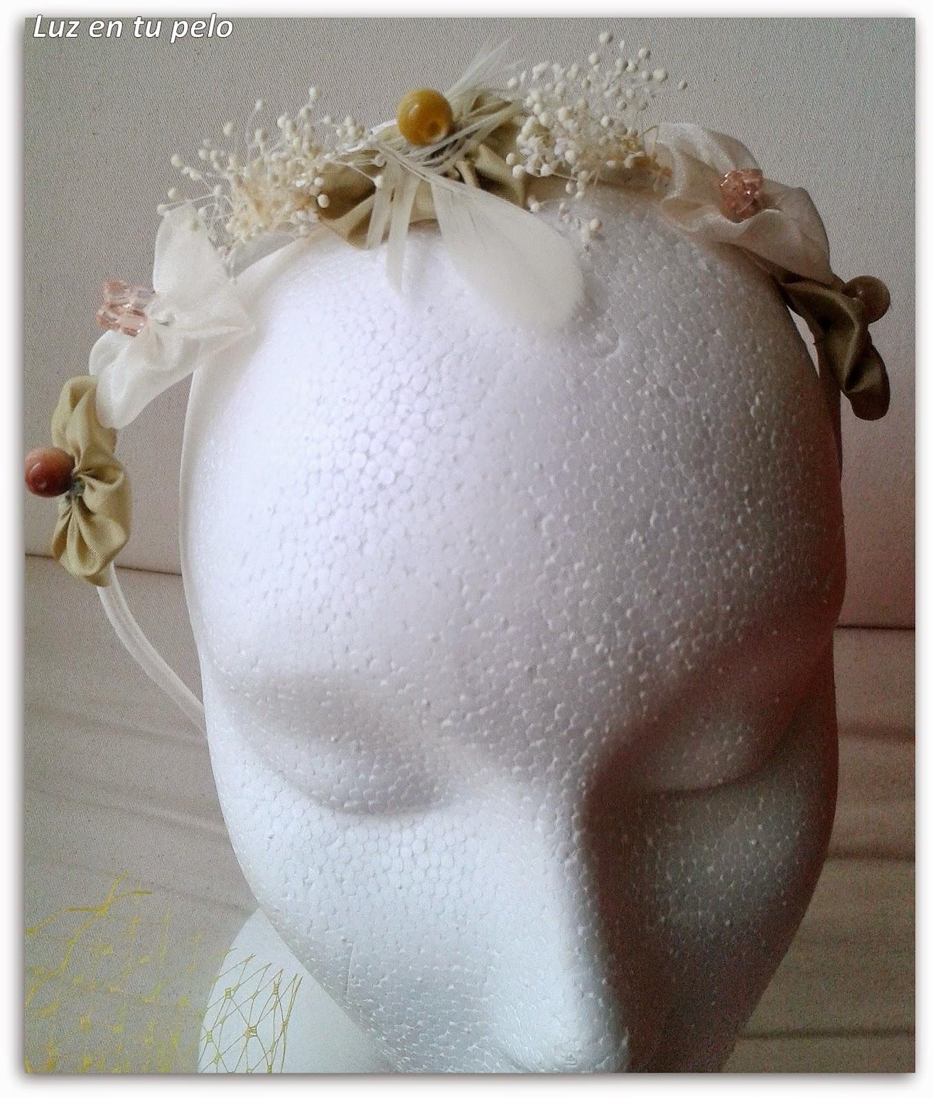 diadema barata, diademas online, diademas para niñas, diademas de flores, diademas de tela, diademas de organza, diademas de comunión