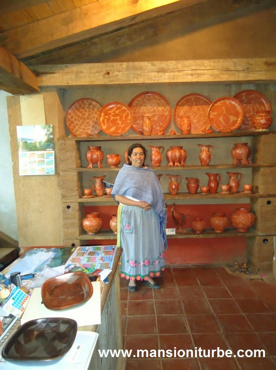 Artisans Workshops in Santa Fe de la Laguna at Lake Patzcuaro