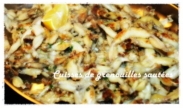 Französische küche froschschenkel  Chez Marlies Geniessen mit den Jahreszeiten: Froschschenkel ...