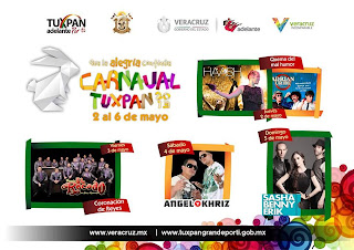 programa carnval tuxpan 2013
