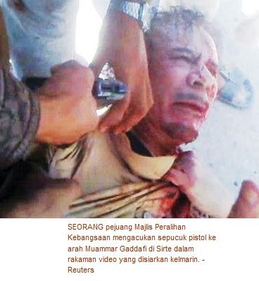 Pemuda 17 Tahun Didakwa Tembak Muammar Gaddafi