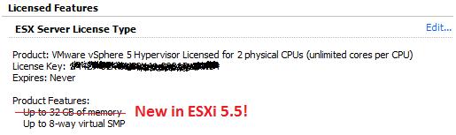 vmware vsphere client 5.5 license key