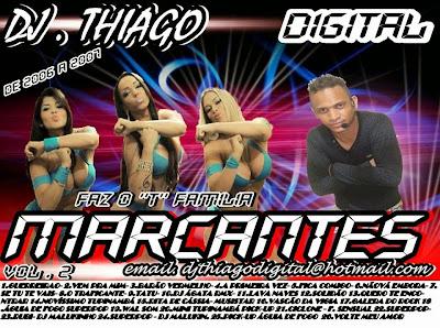 CD MELODY MARCANTES VOL.02 DJ THIAGO 06/11/2014