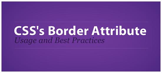 Modifikasi border untuk desain blog.