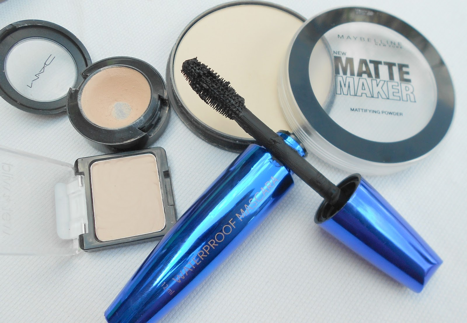 mac giveaway concealer mascara powder eyeshadow wet n wild maybelline primark