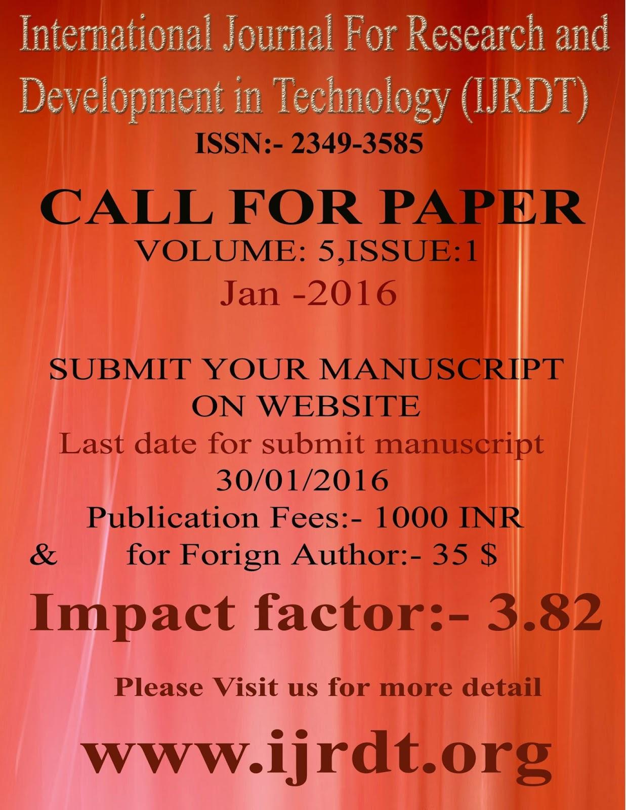 Thesis Publication