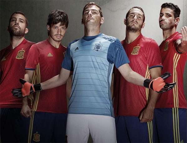 nueva equipación selección española Euro 2016 adidas