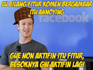 Mark Zukerberg Mengaktifkan Fungsi Kirim Komentar Bergambar Di Facebook