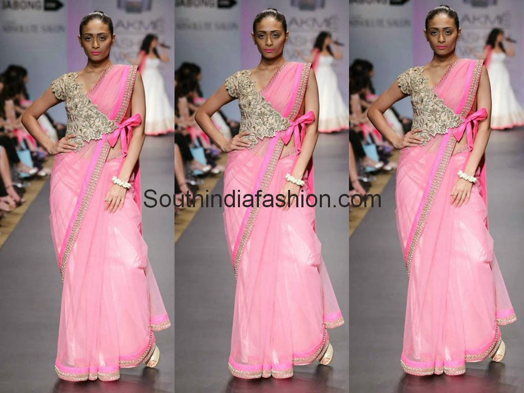 anushree reddy lakme fashion week 2014
