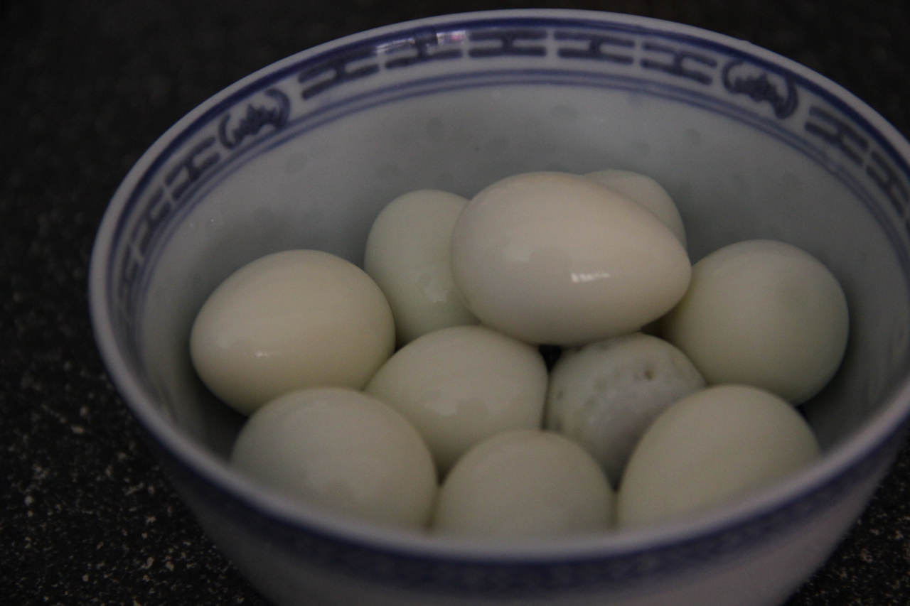 Egg Boiled or Not The Hard Boiled Quail Eggs