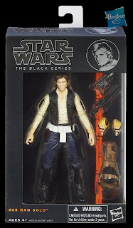 "Hasbro Star Wars The Black Series - Series 2 - 6"" Han Solo ANH Figure"