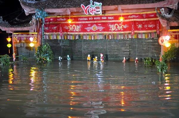 Làng Đào Thục - hồn Việt trong nghệ thuật múa rối nước
