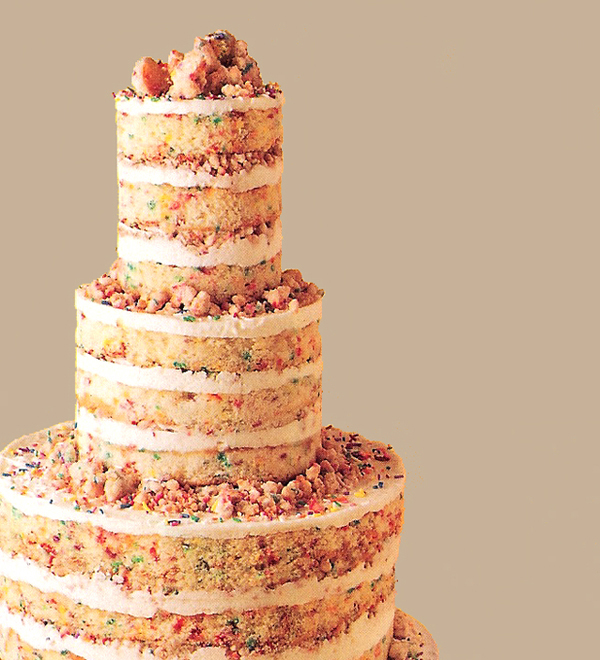 Summer 2013 Cake Trends Natural And Unfrosted Wedding Cakes
