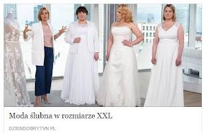 Moda ślubna w rozmiarze XXL