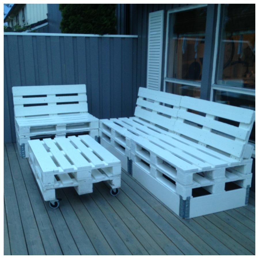 selvbygde hage møbler