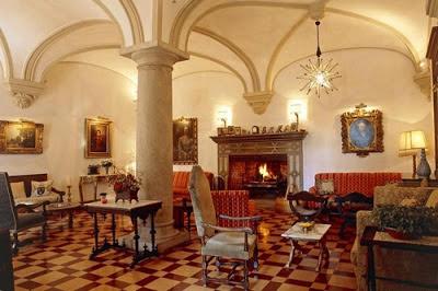 Palacete de Cázulas - salon