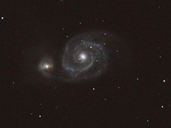 Galaxia M51 en Virgo