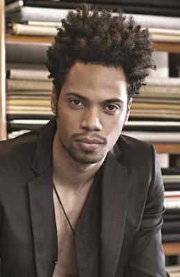 cheveux frisées homme afro