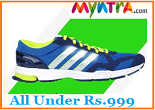 Myntra Footwear Offer : Men & Women Shoes, Sandals, Sneakers All Under Rs.999