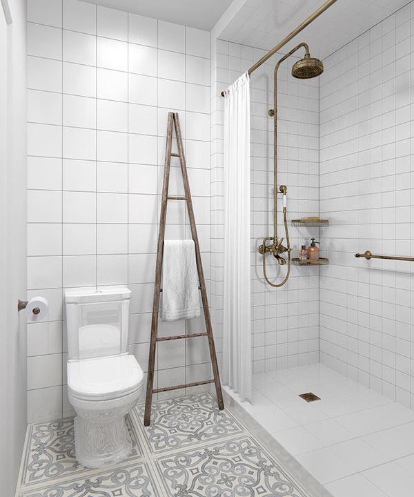 łazienka Cała W Bieli Miu Design Blog
