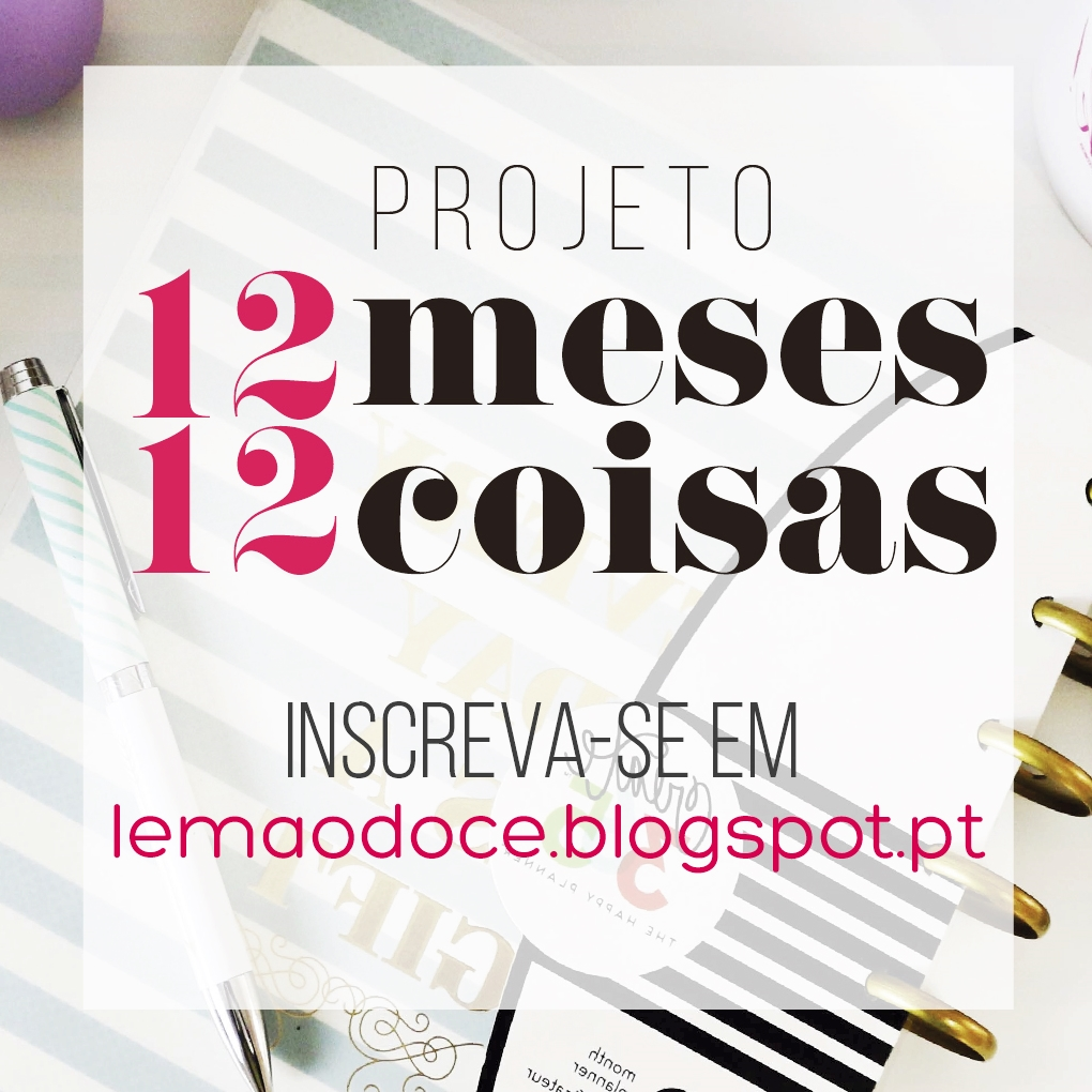 #12meses12coisas | Participo