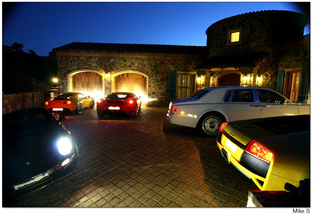 Wicked rides and concepts world s most beautiful garages for Attractive carport