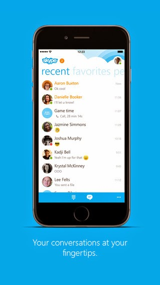 Skype for iPhone update brings image saving option, faster chat loading and more