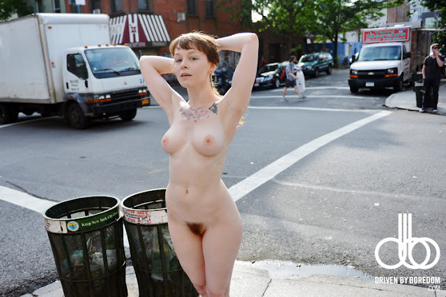 Women Nude In Public Places