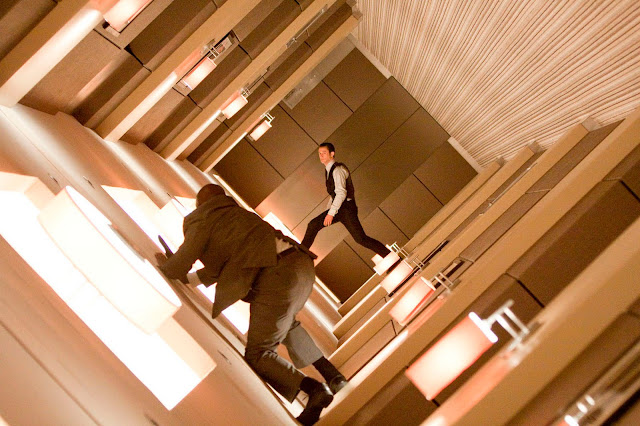 Inception hallway fight scene