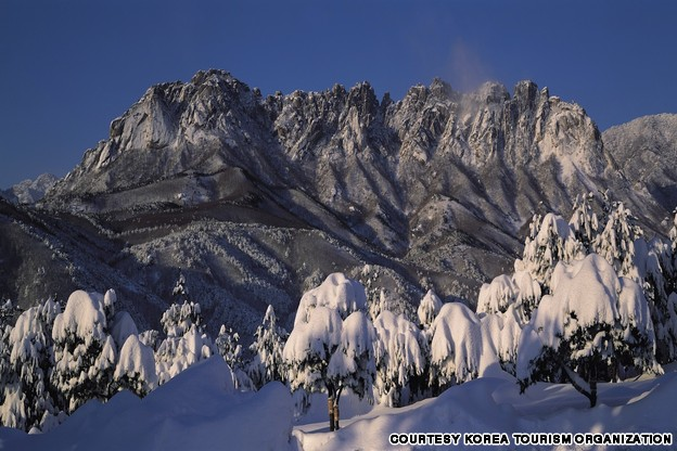 Ulsan Rock, Seorak Mountain (울산바위)