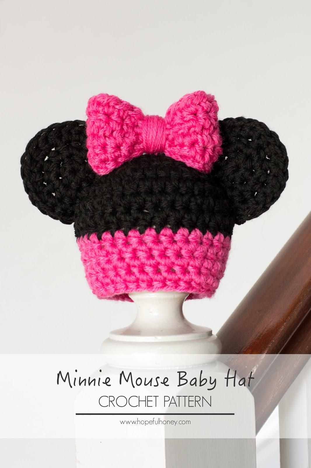 Hopeful Honey Craft, Crochet, Create: Newborn Minnie ...