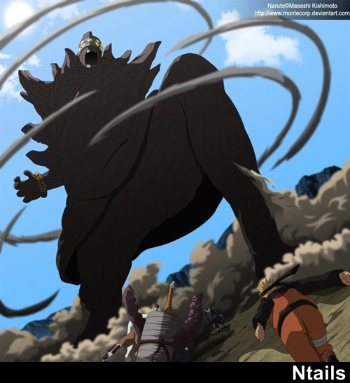 Naruto e Killer Bee vs Tobi