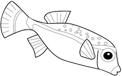 risco para pintura em tecido peixe