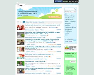 Fiverr - Servicios en línea por 5 dolares