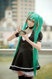 Vocaloid Hatsune Miku Cosplay by Houtou Singi