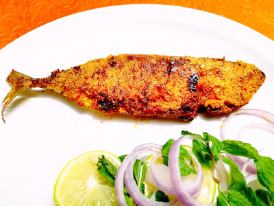 Crispy Mackeral (Bangda) Fish - The Special Kokum Recipe